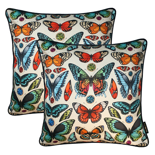 The Tropical Butterfly Cushion Set 45x45cm