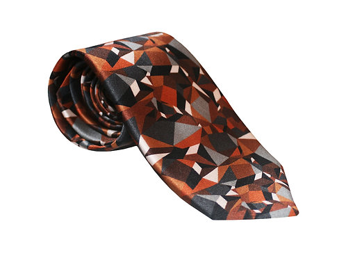 The Prism Tie - Rust