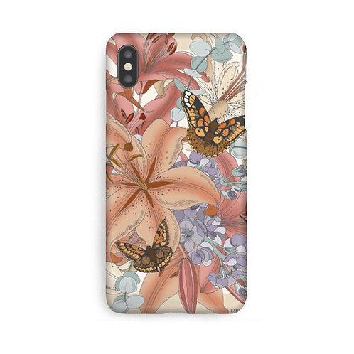 Lily Beige Luxury Phone Case