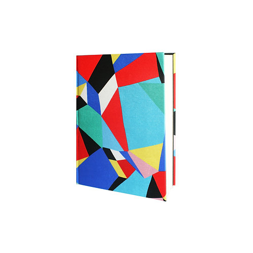 The Geometric Silk Notebook - A5