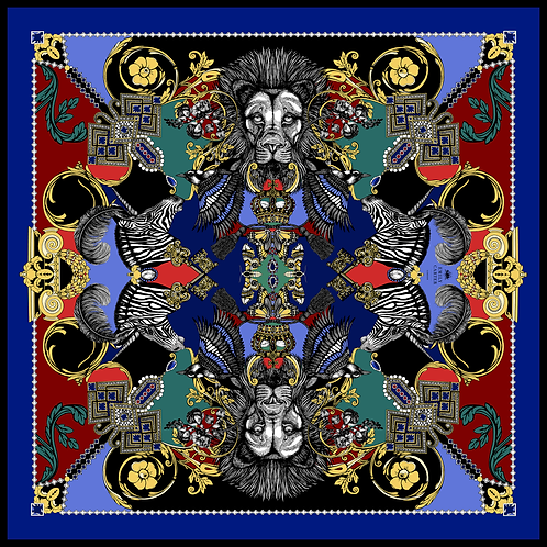 The Regalia Silk Scarf
