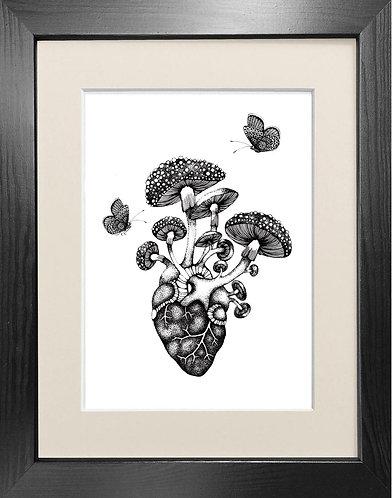 'Cor Meum' Fine Art Print