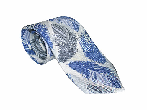 The Feather Tie - Powder Blue