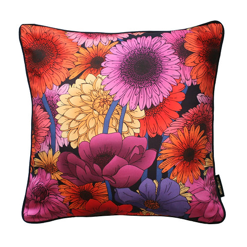 The Dahlia Garden Cushion 45x45cm