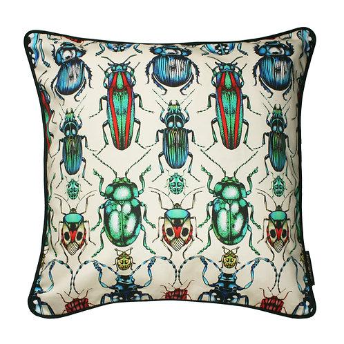 The British Beetle Cushion 45x45cm