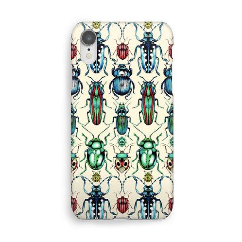 Beetle Luxury Phone Case - Cream