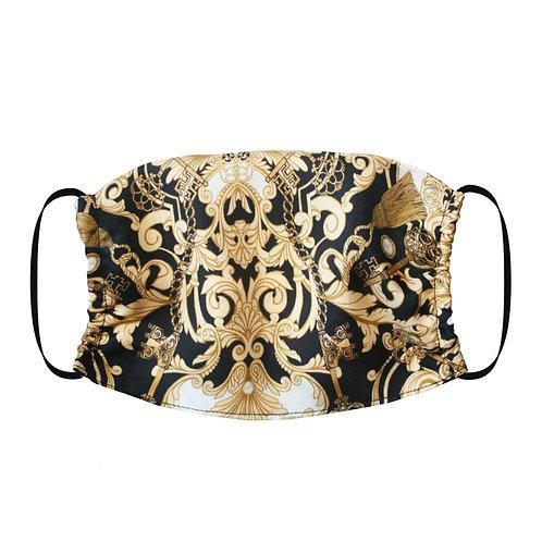 Adjustable Silk Face Mask (Non-Medical) - Baroque
