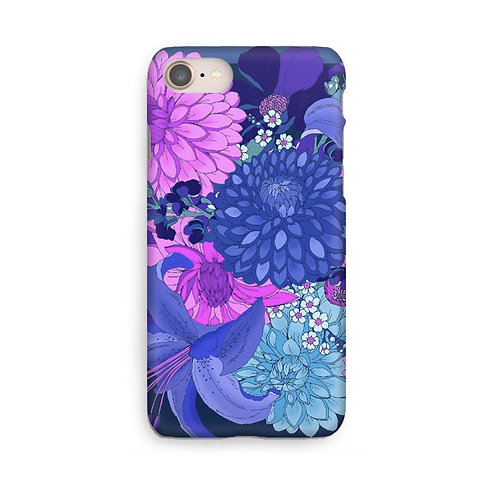 Dahlia Bouquet Luxury Phone Case