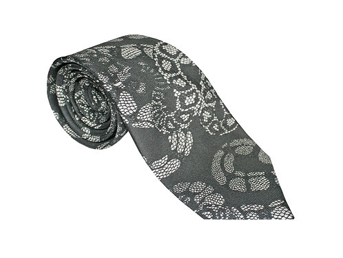 The Python Tie - Charcoal