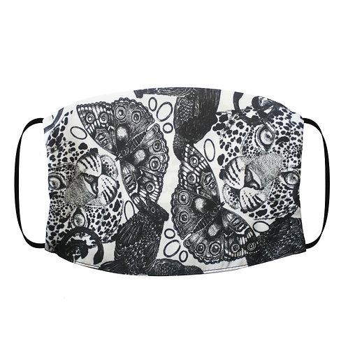 Adjustable Silk Face Mask (Non-Medical) - Leopard