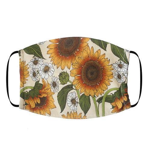 Adjustable Silk Face Mask (Non-Medical) - Sunflower Beige
