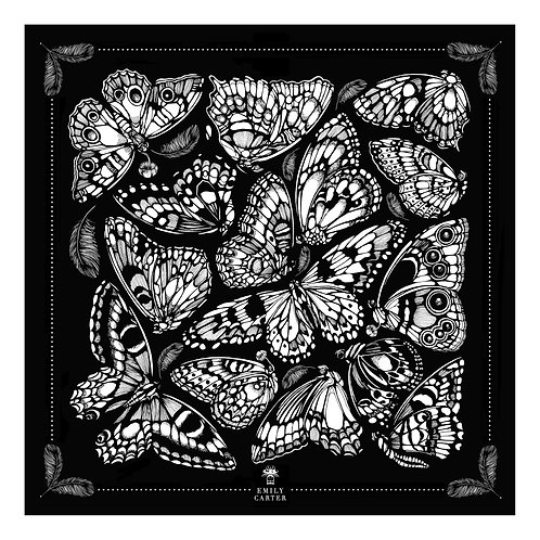 TheTropical Butterfly Pocket Square