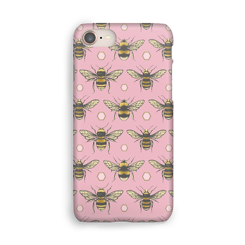 British Bees Luxury Phone Case - Rose