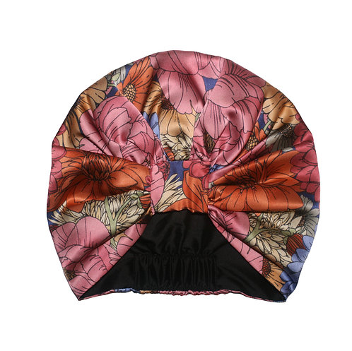 The Antique Floral Silk Turban