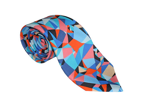 The Spectrum Tie - Salmon Pink