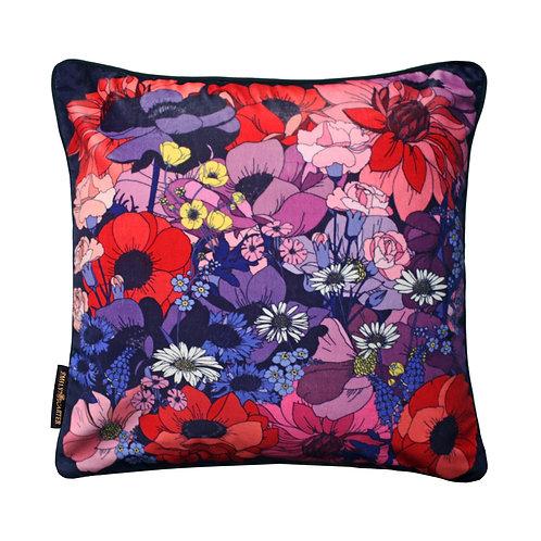 The English Garden Cushion - Velvet