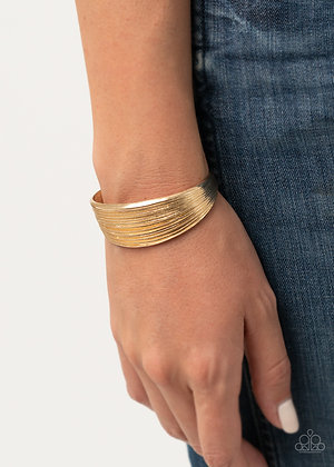 Off The Cuff Couture - Gold
