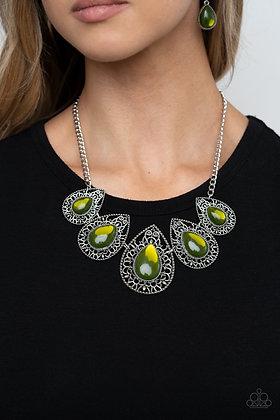 Opal Auras - Green