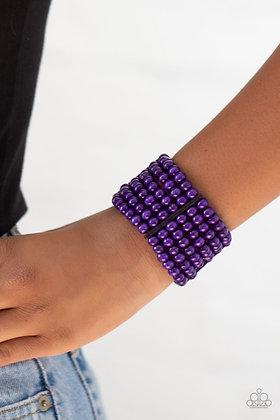 Tanning in Tanzania - Purple