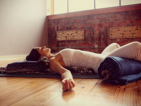 What props do I need for a restorative yoga class?