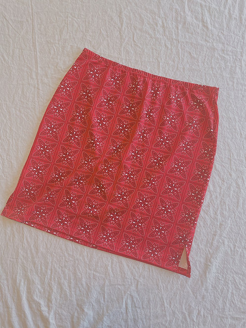 Modern Bandana Mini Skirt (M)