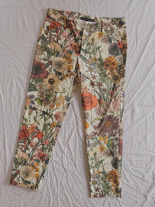 Modern Floral Dress Pant (M)