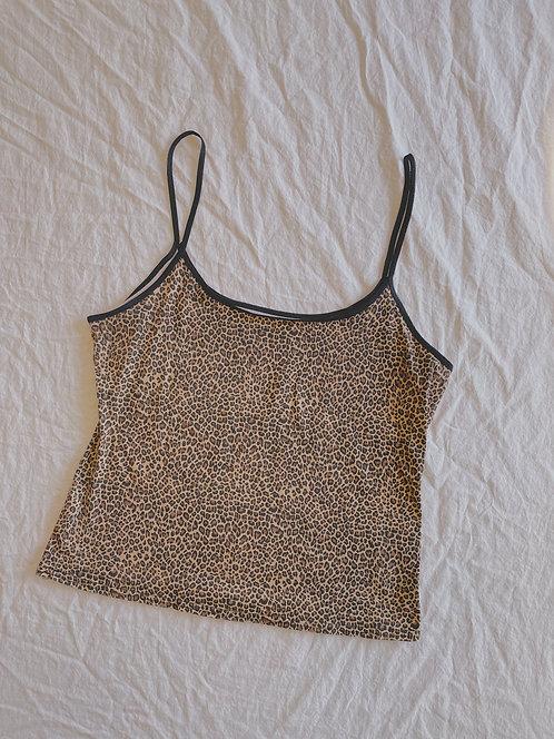 Y2K Cheetah Print Cami (M/L)