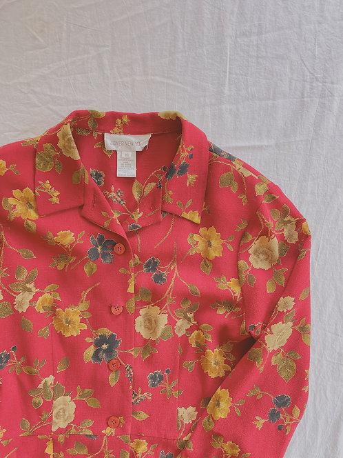 Modern Rose Blouse/Jacket (M)