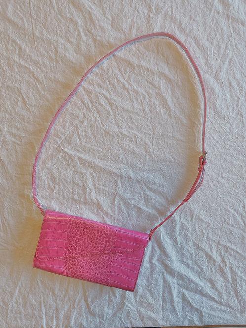 Vintage Danier Pink Leather Purse