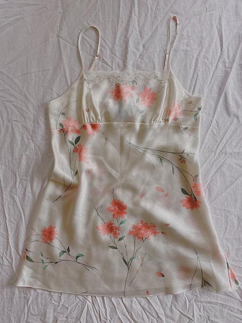 Vintage Silky Slip (L)