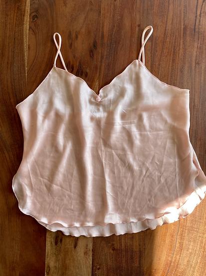 Vintage Pink Rosette Cami (XL)