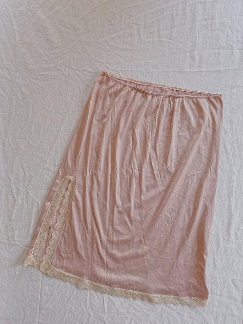 Vintage Rose Lace Skirt (M)