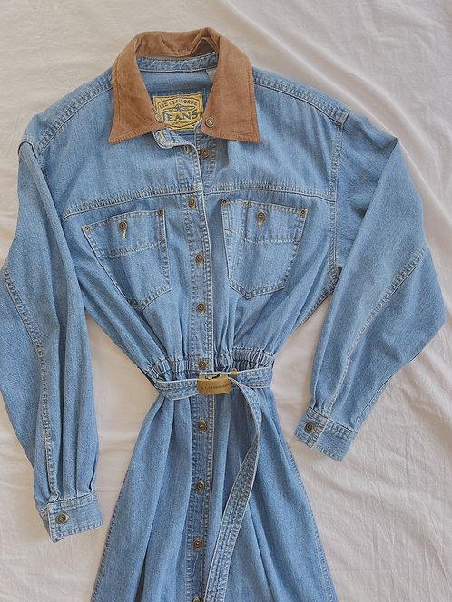 Vintage Liz Claiborne Jean Dress (M)