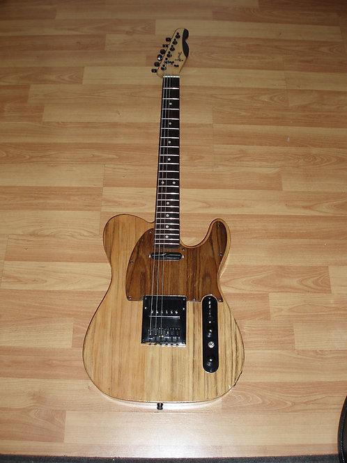 Guitare personnalisée - corps en pin