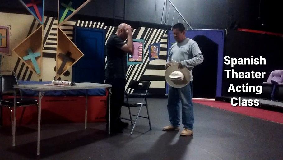 Spanish Theater Acting Class - Frida Kahlo Theater - Jose Ramirez Hernandez