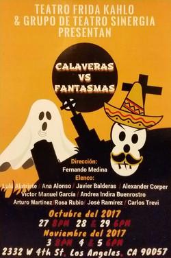Calaveras vs Fantasmas