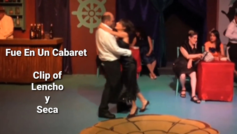 Fue En Un Cabaret - Clip of Lencho y Seca - Frida Kahlo Theater - Grupo de Teatro Sinergia - Jose Ramirez Hernandez