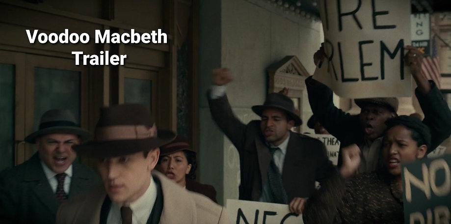 Voodoo Macbeth Trailer - USC School of Cinematic Arts - Warner Bros. - Warner Brothers - Jose Ramirez Hernandez