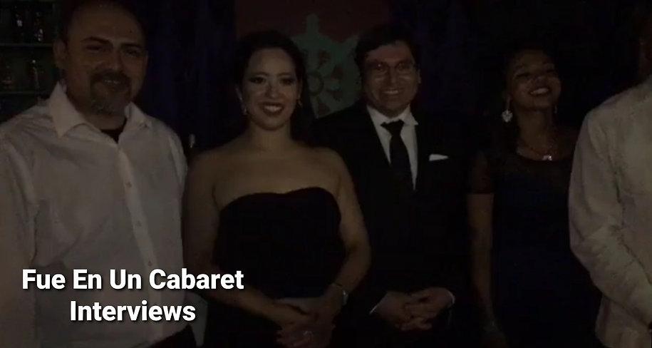 Fue En Un Cabaret - Interviews - Cronicas en OaxaCalifornia - Jose Ramirez Hernandez