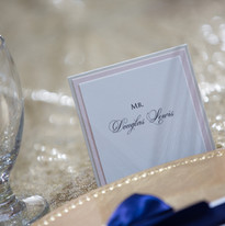 Head Table Placecards