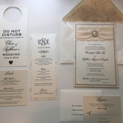 Rhinestone Wedding Invitation