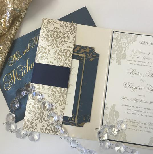 Custom Pocket Invitation