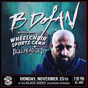 Tonight!! The one and only _bdolansfr is