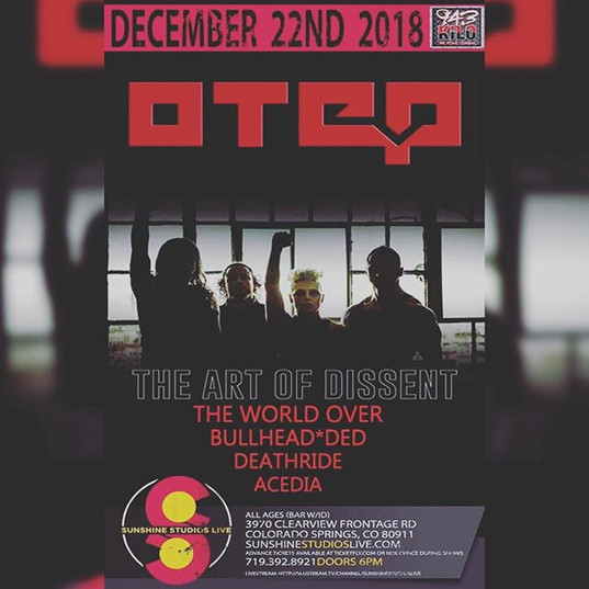 Dec. 22nd you can catch #BullheadDed joi