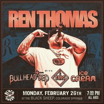 #RenThomas #BullheadDed #TMC and #ICECre