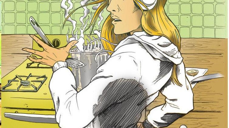 Boiled Bones Comic Book