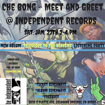 Found_ded Records pop up!!!..Saturday th