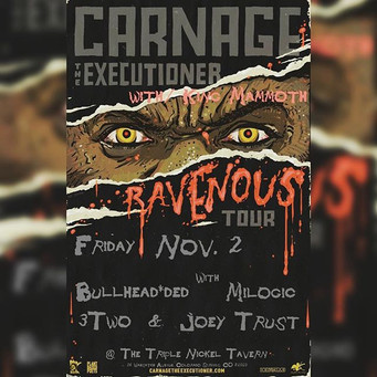 This is tonight!!! Carnage The Execution