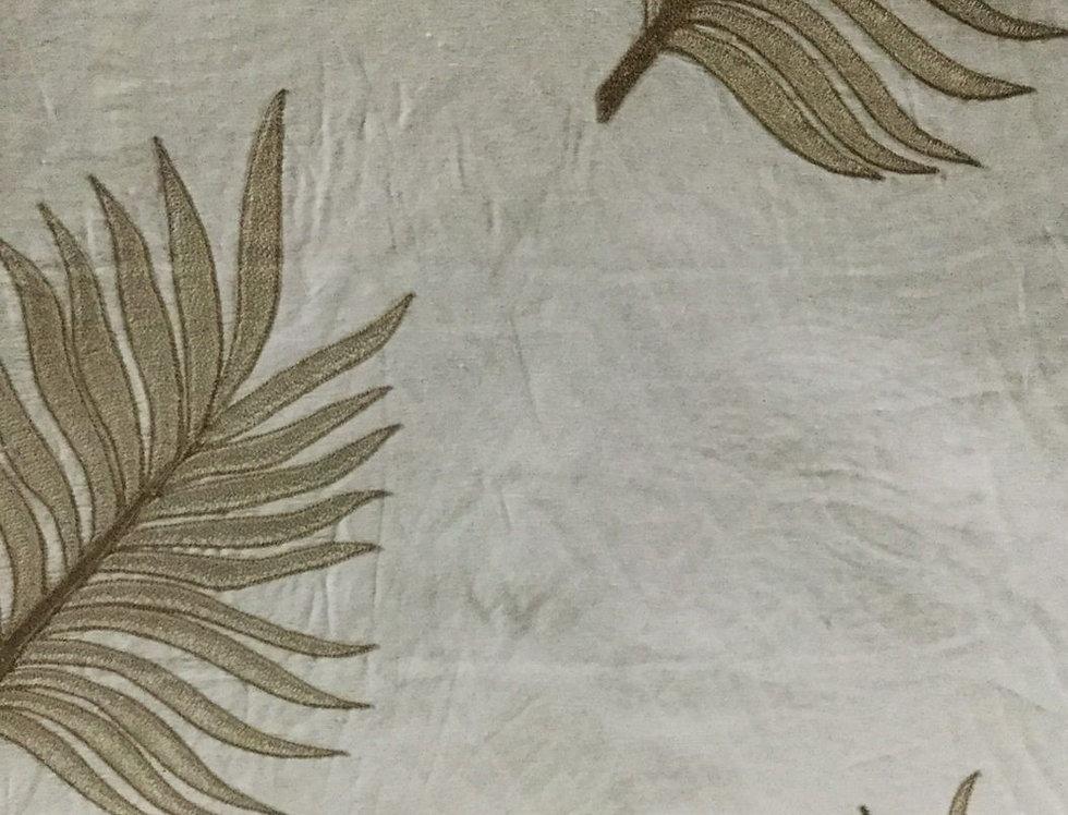 Tan Palm Leaves