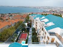 Her terasta İstanbul mavisi, her terasta huzurun yeşili ...